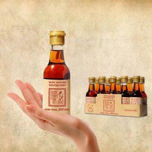 Nước mắm Tĩn chai mini 60ml của Bảo tàng làng chài xưa