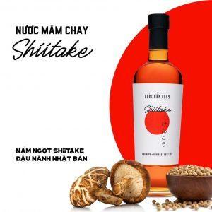 nước mắm chay ngon Shiitake nhật bản